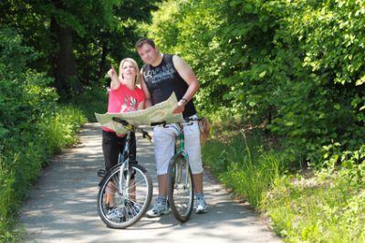 Fahrradtouren, Wandern und Bikersrast am Backhaus-Cafe Drolshagen
