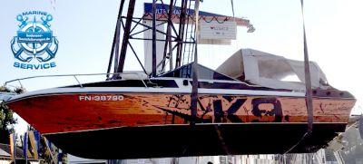 Einwintern vom Boot