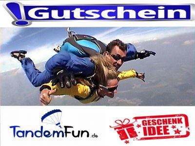 Fallschirmspringen mit Tandemfun Bayern