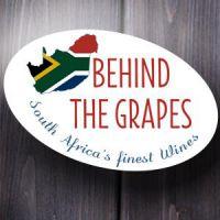 Logo Behind The Grapes