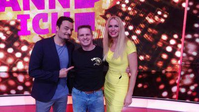 Weltrekordhalter Bernd Höhle gewann in der RTL2 TV Talent Show. Sonja Kraus & Giovanni Zarrella und das Publikum waren begeistert