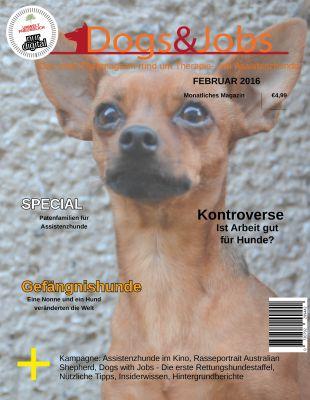 Dogs&Jobs: Die weltweit erste Fachzeitschrift über Therapie- und Assistenzhunde auf dem Markt