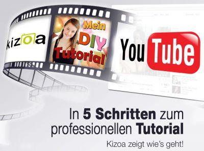 Werde YouTube Star - Tutorials erstellen mit Kizoa