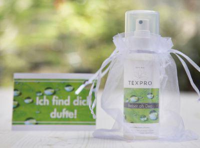 Ein Wichtelhit für 6,99 Euro - Textilspray TexPro gegen Schweißgeruch