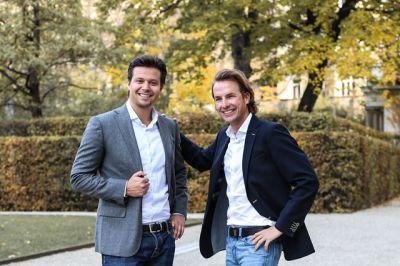 Thomas Grüner und Thomas Schloss