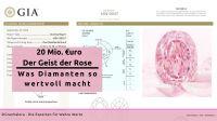 """20 Millionen für den """"Geist der Rose"""": Was Diamanten so wertvoll macht"""