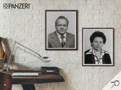 Carlo und Irene Panzeri, die 1947 das italienische Familienunternehmen gründeten.
