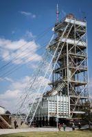 Schachtaufzug Beatrix Betrieb, Sibanye Gold, Südafrika