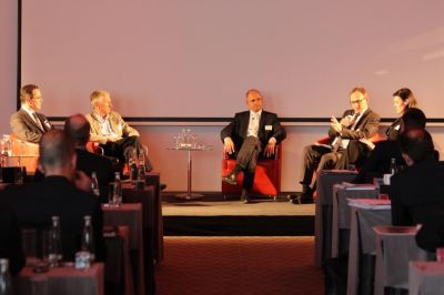 Podiumsdiskussion beim afb Market and Innovation Event 2015