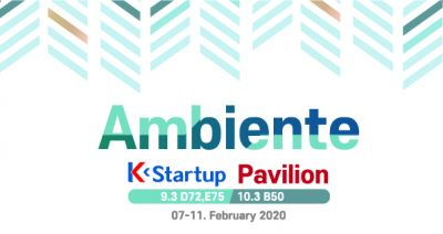 K-Startup Pavilion, Ambiente 2020
