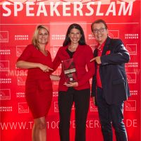 Amina Meineker gewinnt den Speakers Excellence Slam 2021