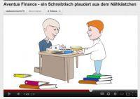 Animationen machen Erklärungswürdiges unterhaltsam für jeden zugänglich. Hier: Die Textzeichnerin für Aventus Finance