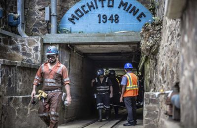 Eingang El Mochito Mine, Ascendant Resources