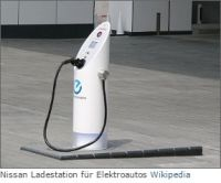 Nissan Ladestation für E-Autos