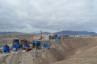 Verarbeitungsanlage der Inca One Gold Corp. in Peru
