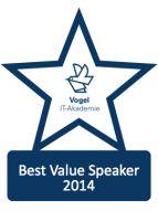 Bernd Hoeck wird als Best Value Speaker ausgezeichnet