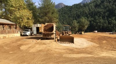Erzverladung auf der Pinargozu-Mine; Foto: Pasinex Resources