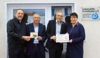 Die Lebenshilfe Leverkusen e.V. freut sich über eine 1.500,- Euro Spende der SAP Beratung Bitech.AG.