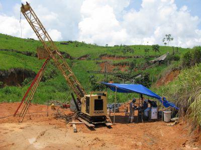 Bohrung bei Brazil Resources