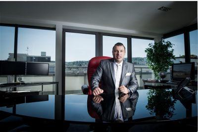 Harald Seiz, Geschäftsführer der Karatbars International GmbH