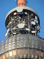 Eine von rund 800 e*Message-Sendestationen in Deutschland: Berliner Fernsehturm