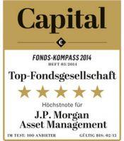 J.P. Morgan Asset Management erhält Fünf-Sterne-Höchstnote von Capital