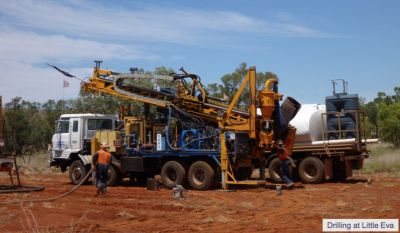 AOH-Drilling at Litllte Eva
