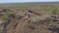 Bohrungen auf Harvest, Australien, Roseby Projekt von Altona Mining