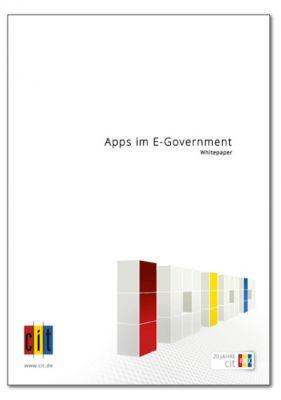 """Die cit veröffentlicht ein neues Whitepaper zum Thema """"Apps im E-Government""""."""