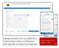 cit zeigt mobiles E-Government auf der CeBIT 2014