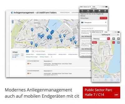 Die cit GmbH stellt auf der CeBIT neue Entwicklungen aus dem Bereich E-Government vor.