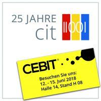 cit zeigt auf der CEBIT moderne E-Government-Lösungen