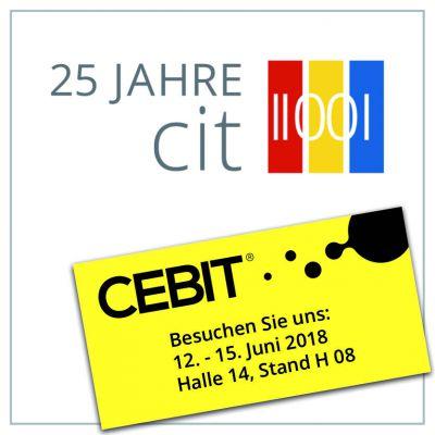cit stellt auf der CEBIT die neuesten Produktentwicklungen vor.