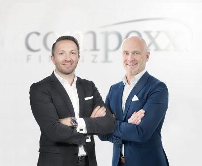 Markus Brochenberger (l.) ist Vorstand der compexx Finanz AG, Frank Johann Baumgärtner Geschäftsführer von cpx Makler.