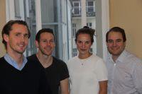 Team Lirdy (v. l. n.r.)  Benjamin Bauer, Thomas Hieber, Antonia Reidel, Philipp Gaerte