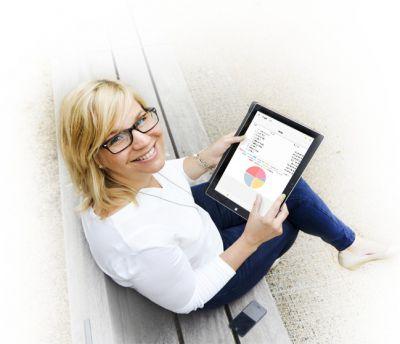 Spezielle mobile Apps zur schnellen Erfassung, Bearbeitung, Freigabe und Einsicht von Daten und Belegen