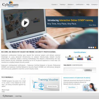 Cyberoam startet eine Online-Learning-Plattform.