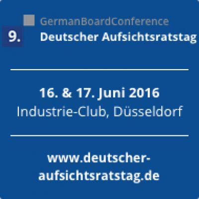 9. Deutscher Aufsichtsratstag