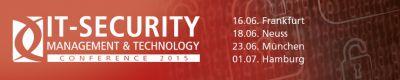 dataglobal ist bei der IT Security 2015 mit einem Vortrag vertreten.