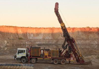 Bohrung auf dem Goldprojekt Mallina; Foto: De Grey Mining