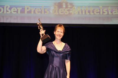 Heike Hinrichs, Geschäftsführerin des Preisträgers Lansinoh Laboratories, Inc., NL  Deutschland