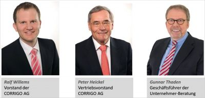 Kooperationspartner COORIGO AG & Unternehmer-Beratung JRT GmbH