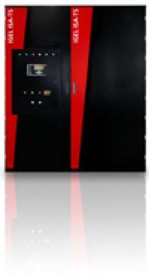 Der Sanftanlasser ISA-TS benötigt nur 50% des Platzes eines leistungsgleichen Frequenzumrichters