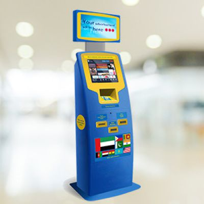 Der Franchise-Zahlterminal