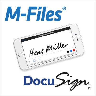 M-Files und DocuSign vereinfachen die Digitalisierung von Geschäftsprozessen