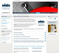 Bauaufsicht Frankfurt ermöglicht Online-Bauantrag für Werbeanlagen