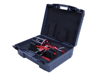 Mit Schaumstoff eingelegter Werkzeugkoffer