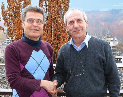 axanta AG ermöglicht erfolgreiche Unternehmensübergabe: Der Käufer Romeo Bartsch und der Verkäufer Basilio Truglio (v.l.n.r.)