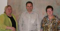 Die bisherigen Gesellschafterinnen Karin Jacobsohn (links) und Dagmar Plant (rechts) sowie der neue Geschäftsführer Heinz Holzer