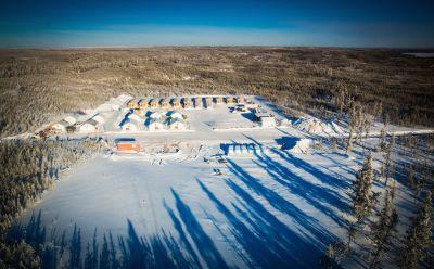 Uran-Kernbohrlager von Fission Uranium